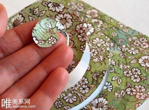 志纸张DIY纸玫瑰如何制作图片