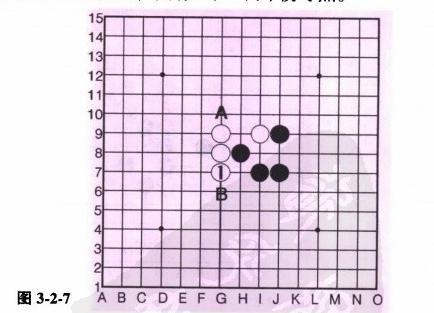 五子棋中点的选择连珠技巧图片