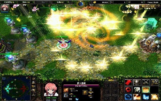 魔兽对抗地图单机游戏下载