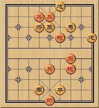 中国象棋残局破解_残局求解_棋谱收藏站图片