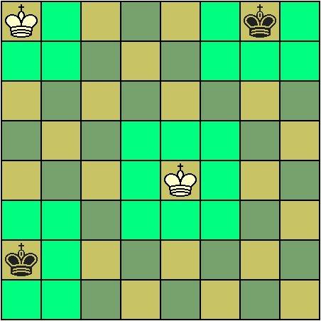 """国际象棋的王没有""""九宫""""的限制)一般在开局"""