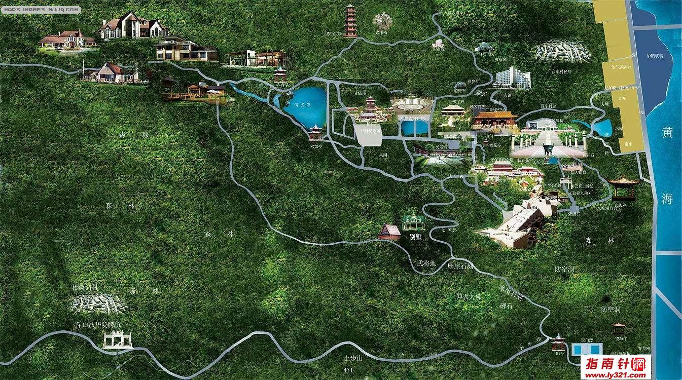 山东石岛赤山旅游地图_威海地图查询