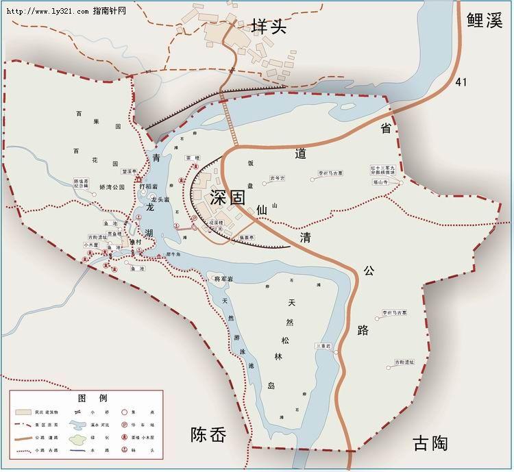 青龙湖_温州地图查询