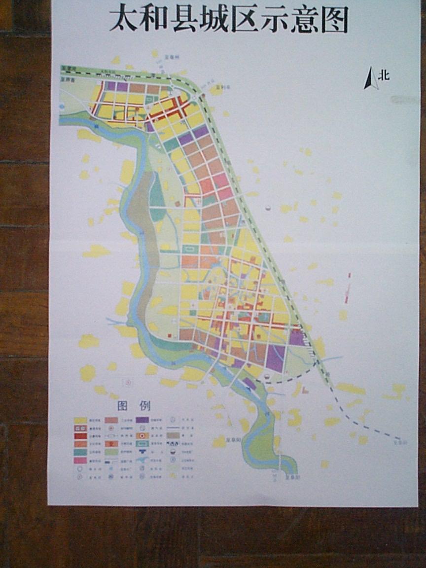 太和城区图_阜阳地图查询