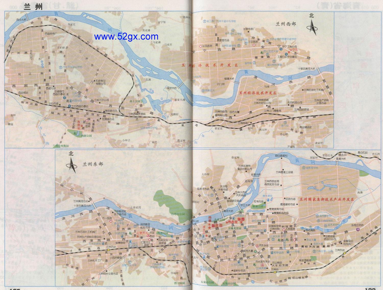 兰州市地图