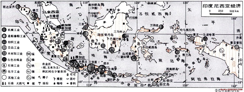 印度尼西亚老地图