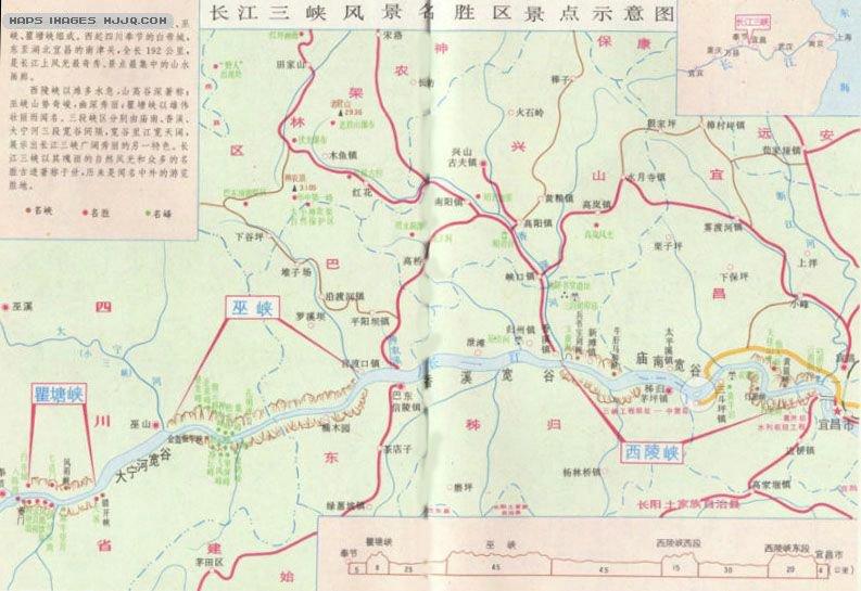 武汉动物园景区地图