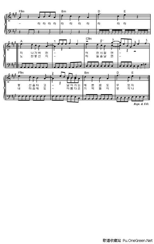 balloons_钢琴乐谱