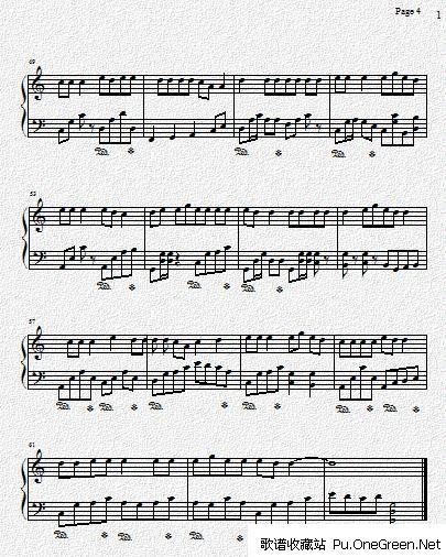大悲咒_钢琴乐谱