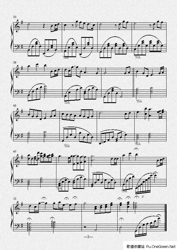 魔法城堡_钢琴乐谱