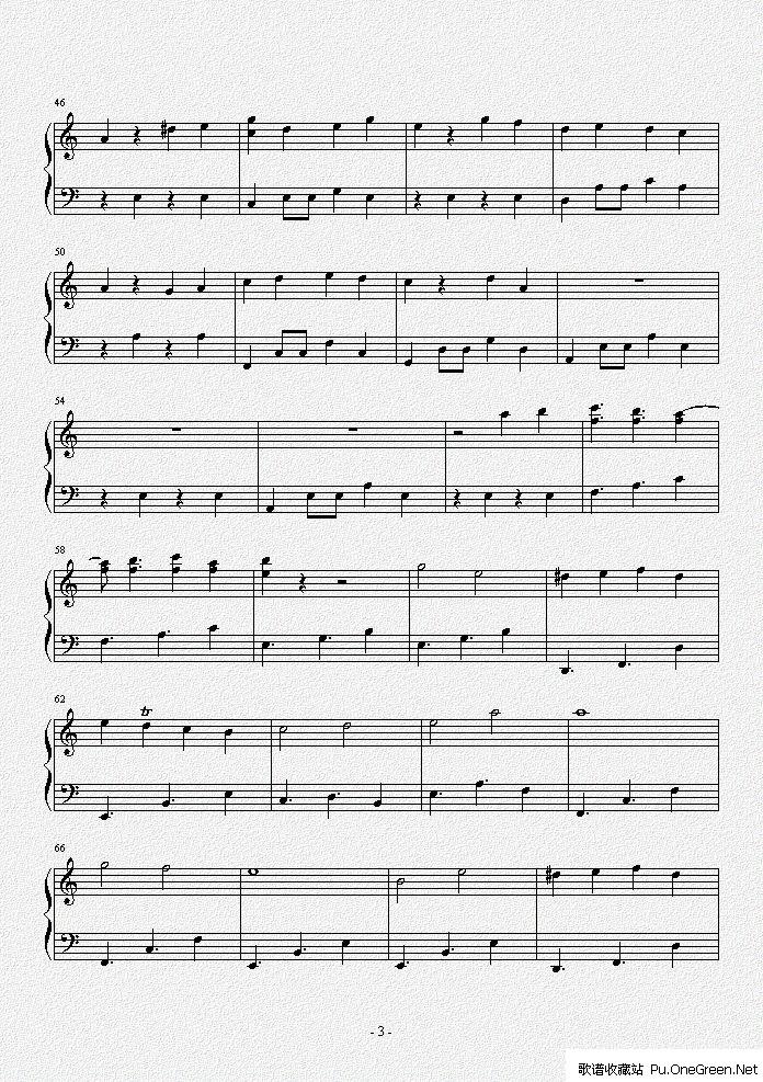 上一首歌谱: 植物大战僵尸小游戏战背景音乐