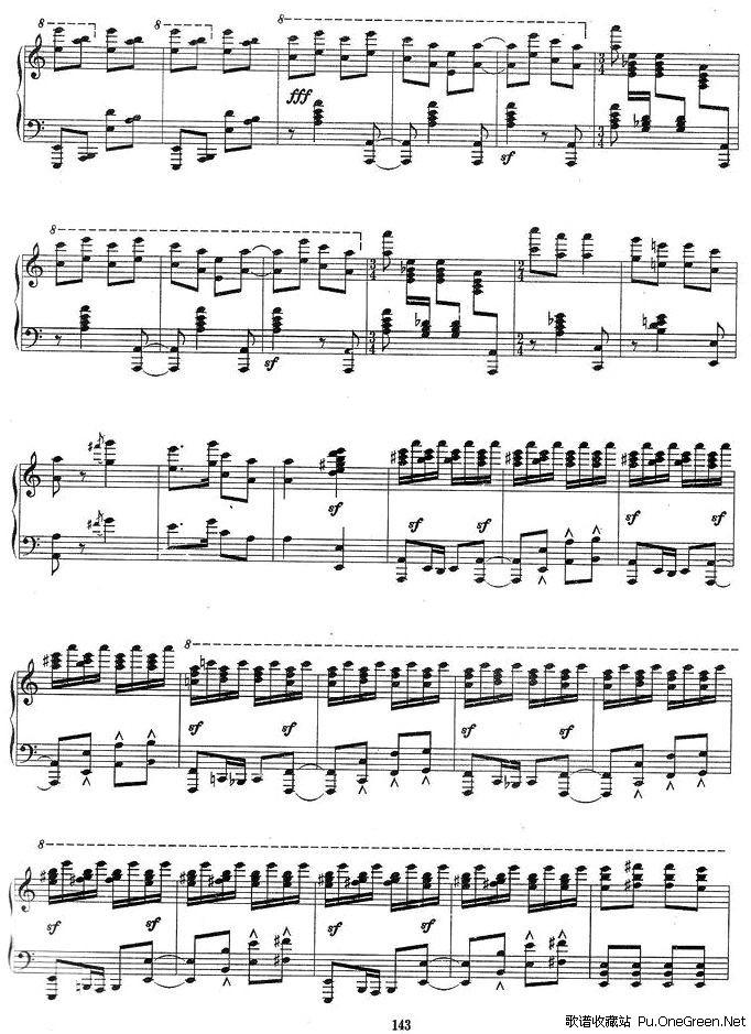 琴歌指弹亡灵序曲谱子
