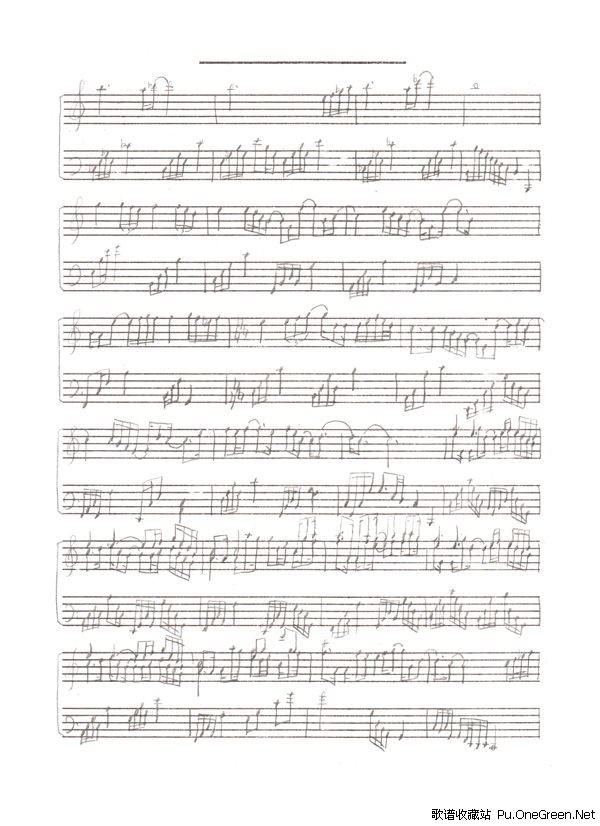 有点甜钢琴乐谱