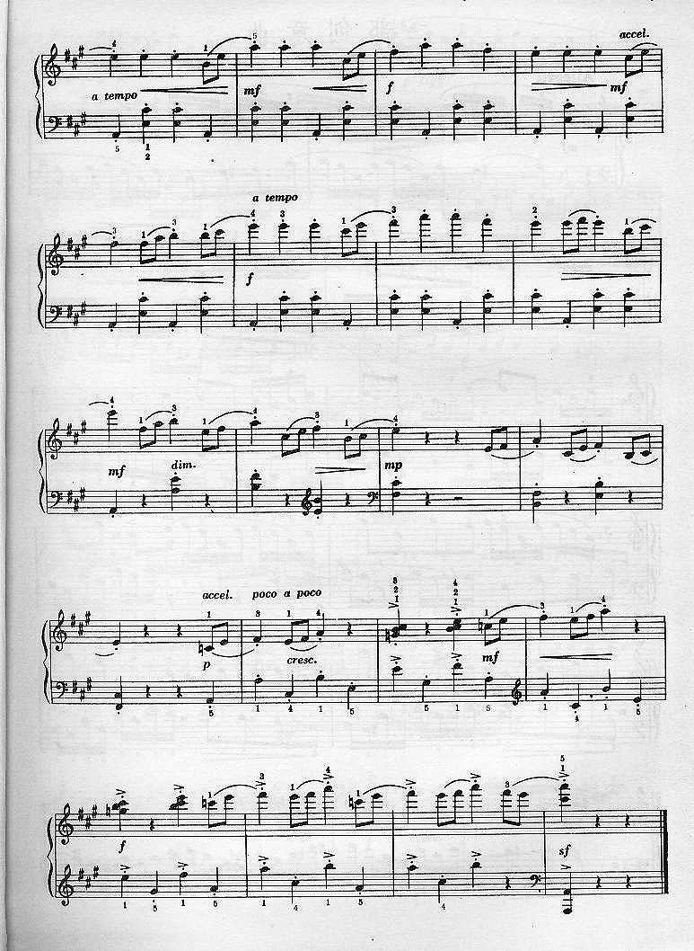 上一首歌谱:奏鸣曲(贝多芬)-捉迷藏