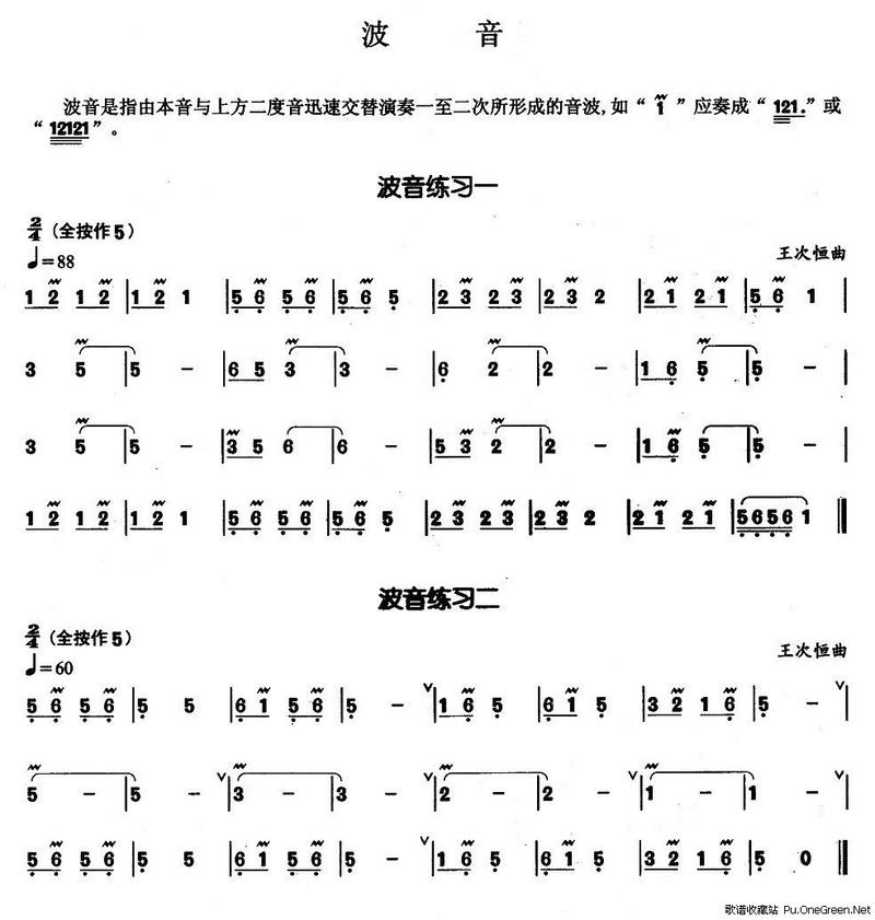 葫芦丝基本技巧练习曲_波音派酷8705刷卡教程图片