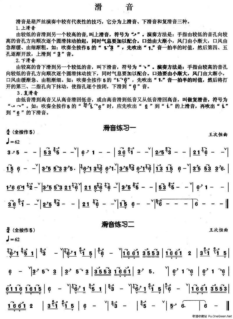 歌谱收藏站 歌谱库 曲谱 葫芦丝谱 >> 正文    演唱(奏)者: 佚名