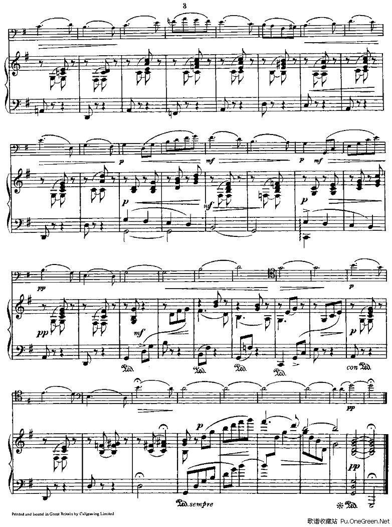 spring song(春之歌)(大提琴+钢琴)
