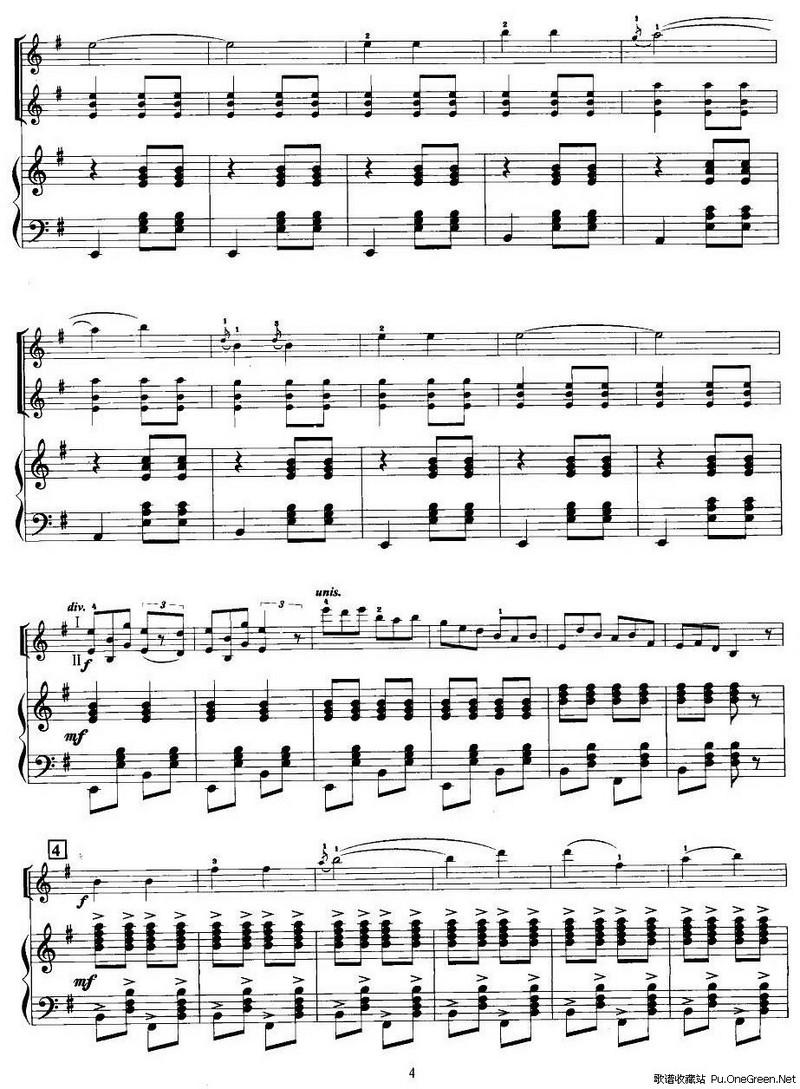小提琴乐谱 everytime-everytime的数字简谱,bigbang