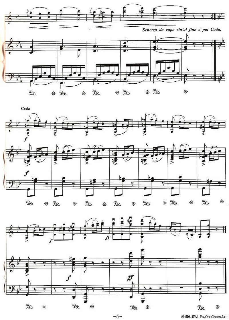 大提琴钢琴合奏谱子分享展示