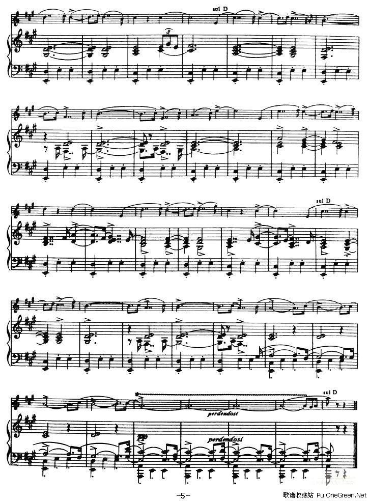 Liebesleid 爱的忧伤 小提琴 钢琴