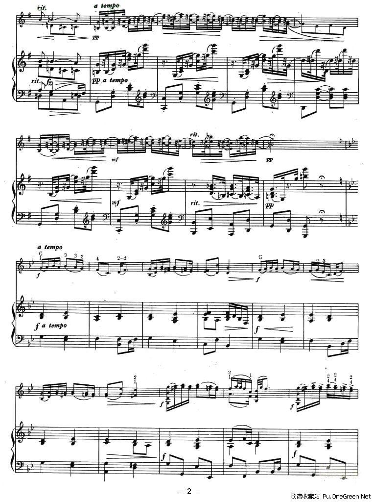 幽默曲(钢琴伴奏谱)-小提琴谱—尚弦乐谱网-第一乐谱网; 幽默曲简谱; 图片