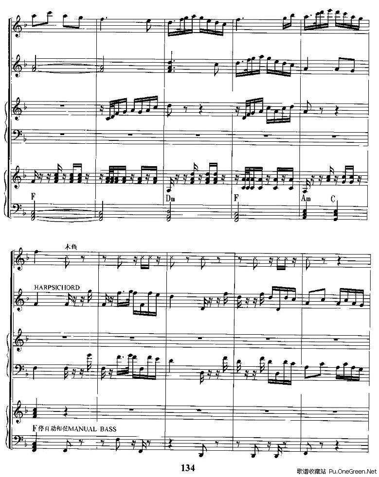 电子琴国歌谱分享展示