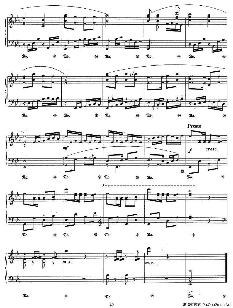 卷珠帘空灵鼓五音曲谱-花鼓