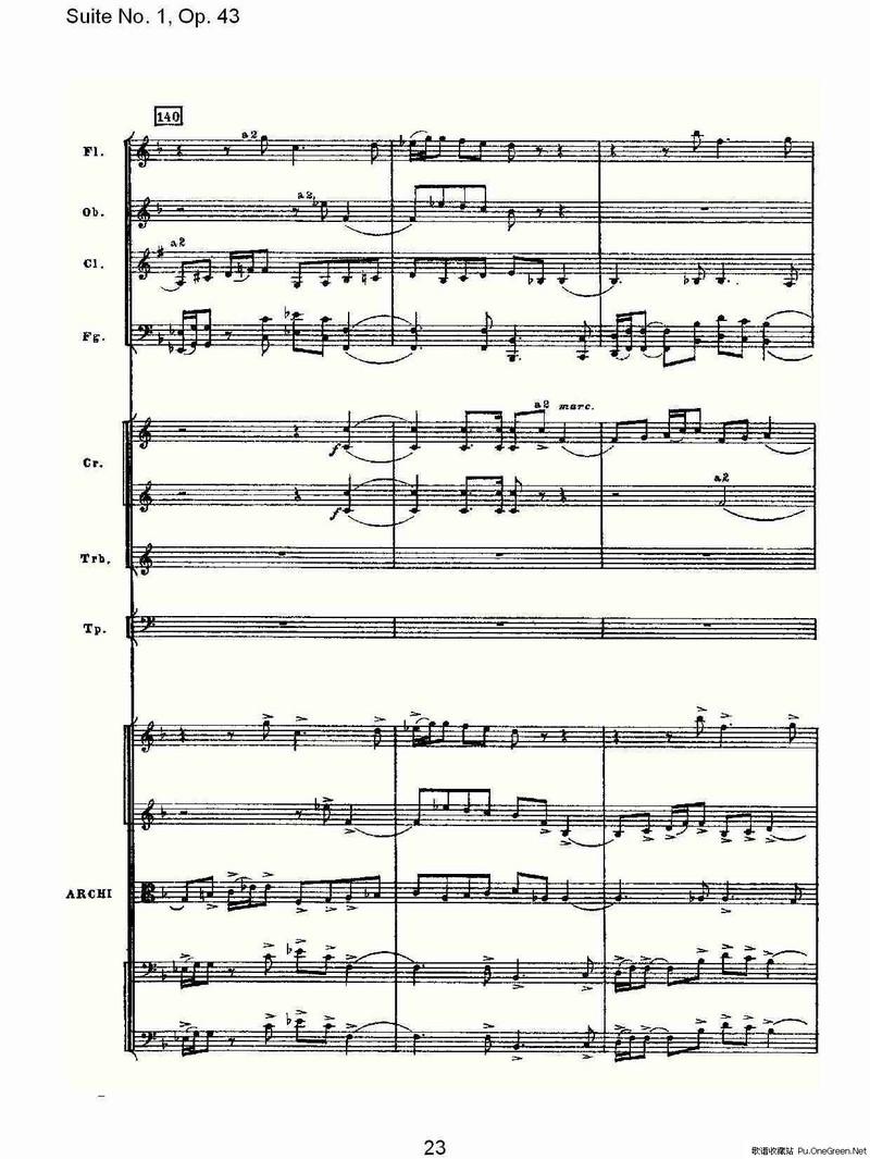 拜厄43课曲谱
