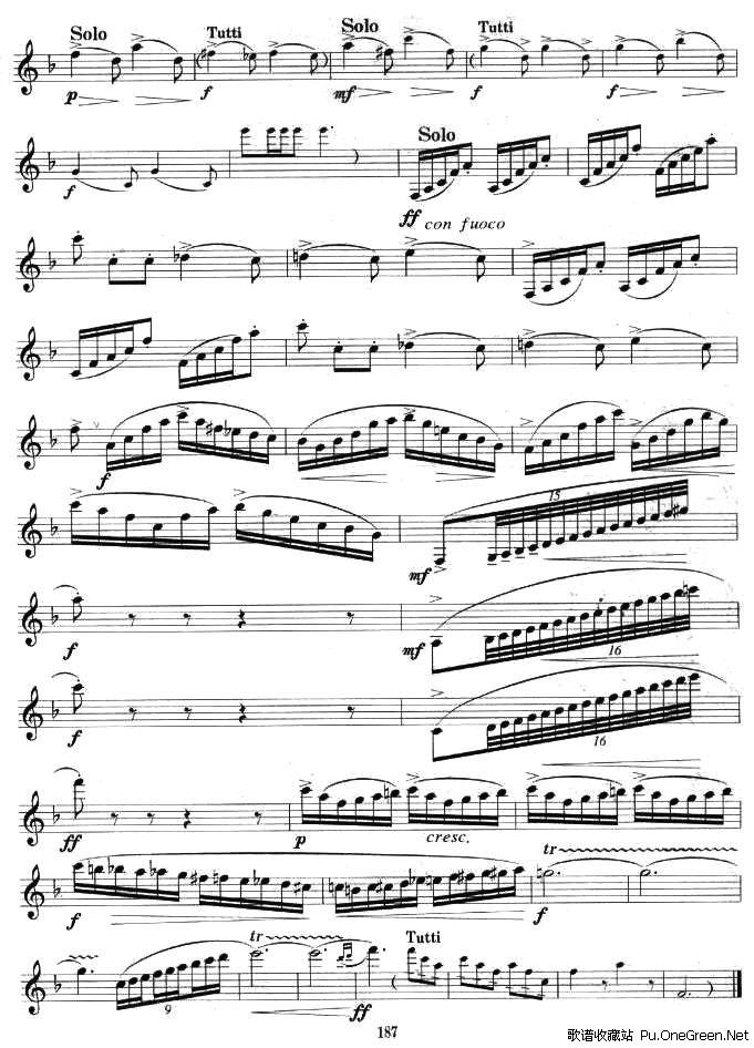 小协奏曲(单簧管)_佚名