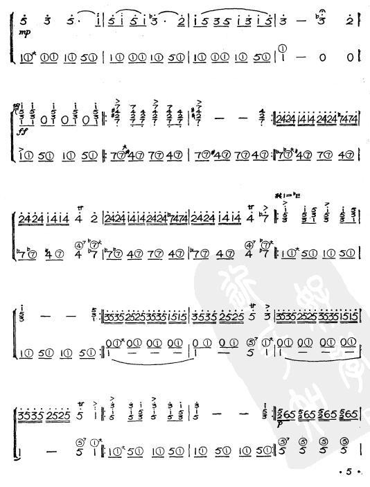 歌谱收藏站 歌谱库 曲谱 手风琴谱 >> 正文    演唱(奏)者: 佚名&nbsp