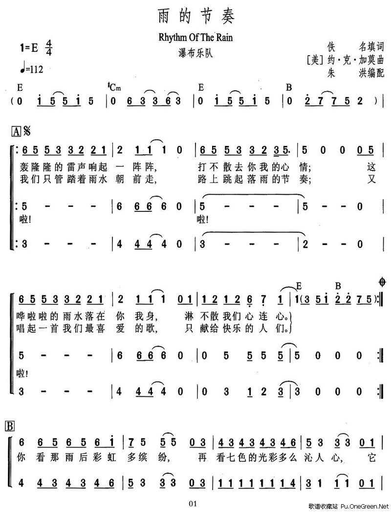 二拍子节奏_关于简谱的节拍怎么看?表示节拍的符号分别是哪些?一首曲子 ...