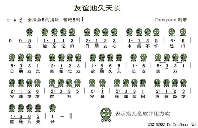 简单的六孔陶笛曲谱图片大全 提琴曲谱 青花瓷 六孔陶笛