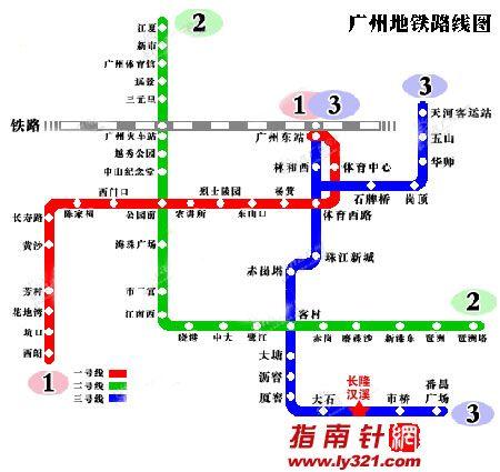 广州长隆香江野生动物世界地铁到达图