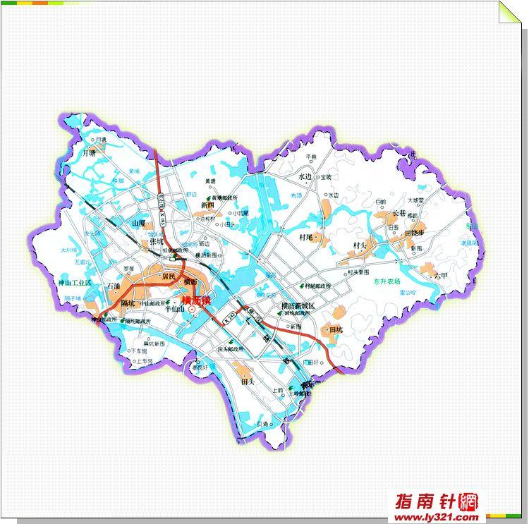 >> 东莞横沥地图