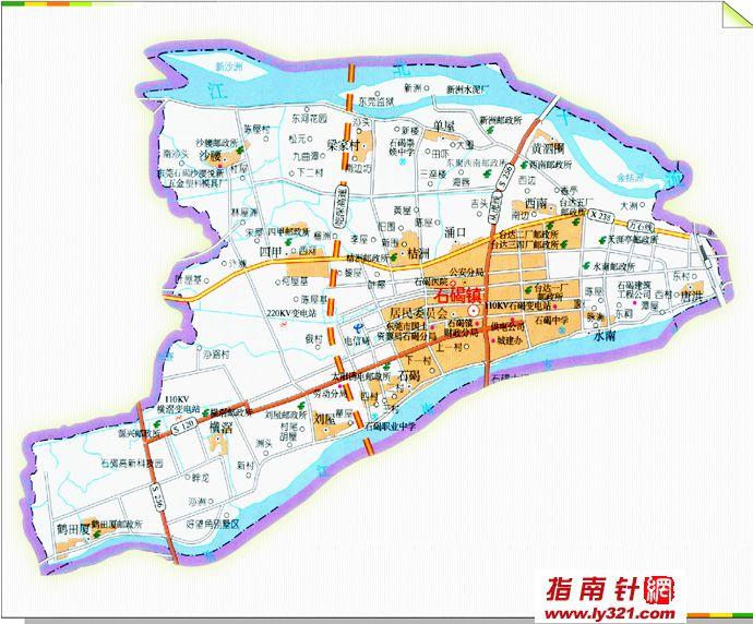 东莞石碣镇地图