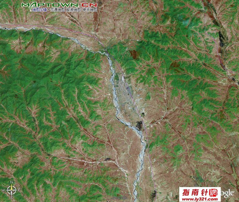 扎兰屯市地图_内蒙古呼伦贝尔扎兰屯市卫星地图_呼伦贝尔地图库