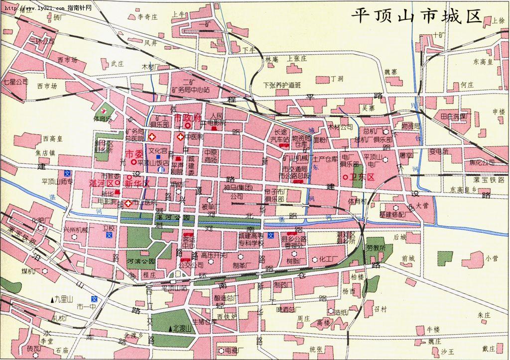 平顶山地图 平顶山市地图查询高清图片