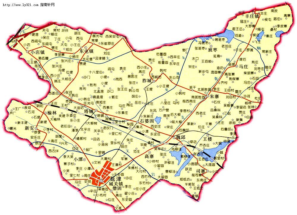 河南新乡延津县地图_新乡市旅游景点地图查询