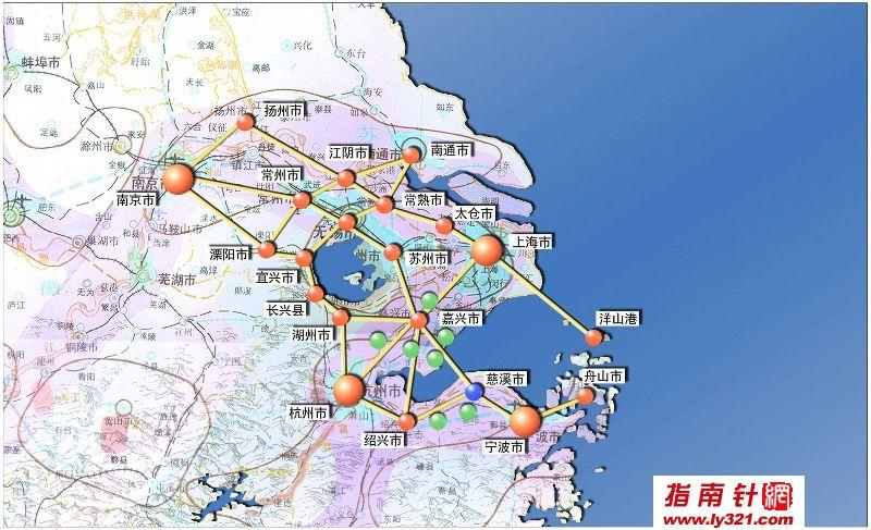 舟山 地图/浙江舟山在长江三角洲的位置地图