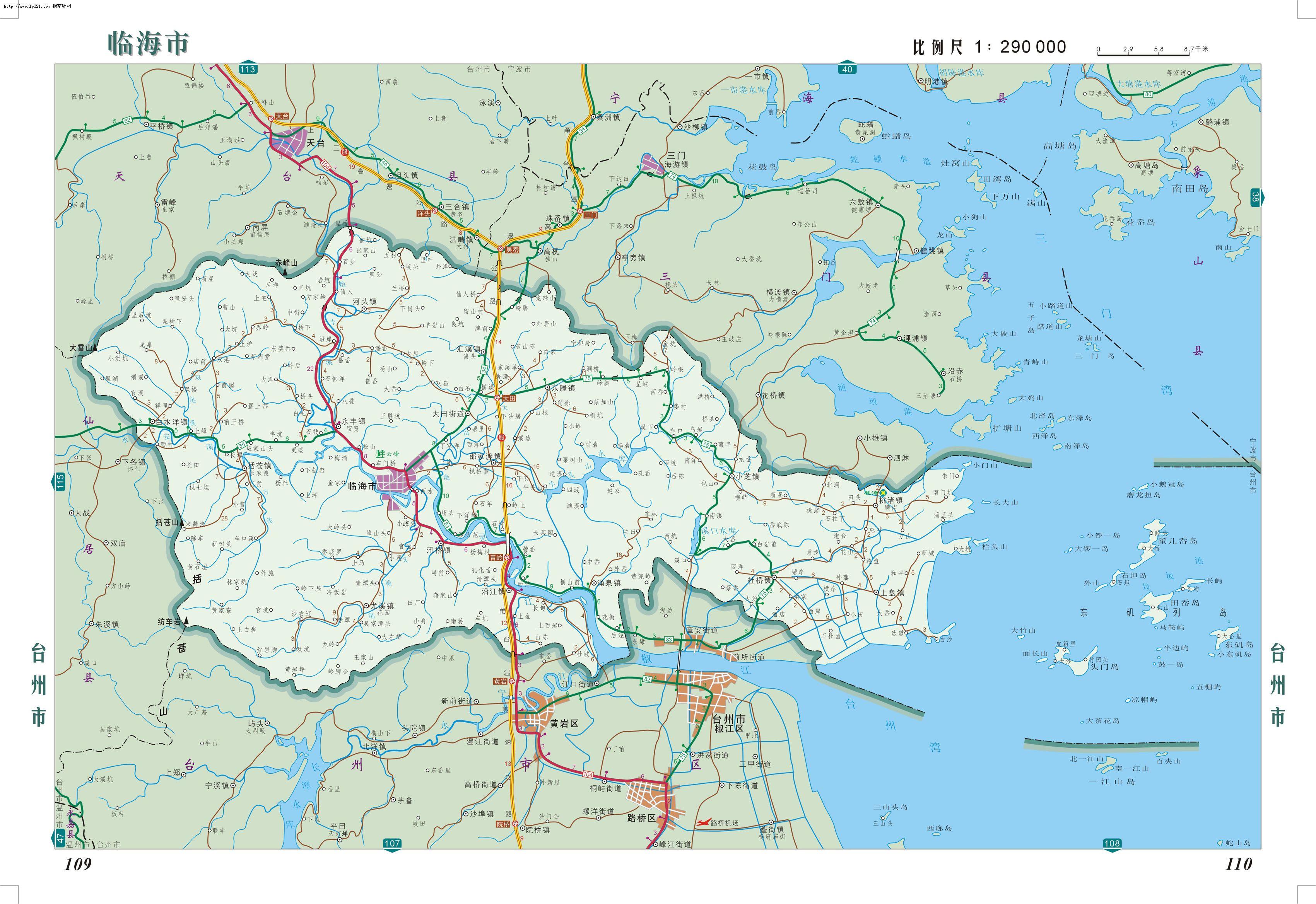 南通手绘景点认知地图