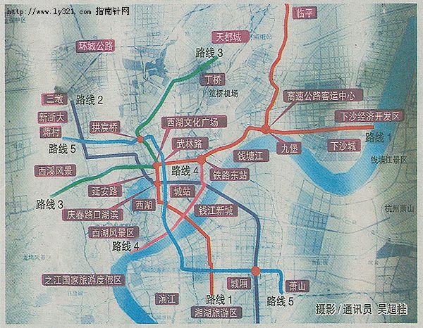 杭州地铁1号2号线路图图片