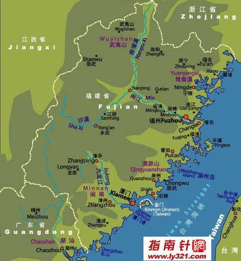 福建省地图_福建地图查询