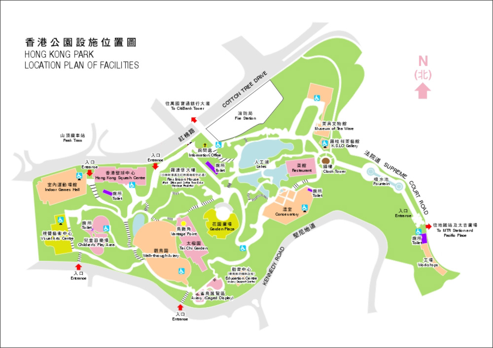香港公园_香港旅游景点地图查询