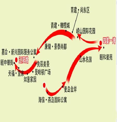 即墨旅游路线图