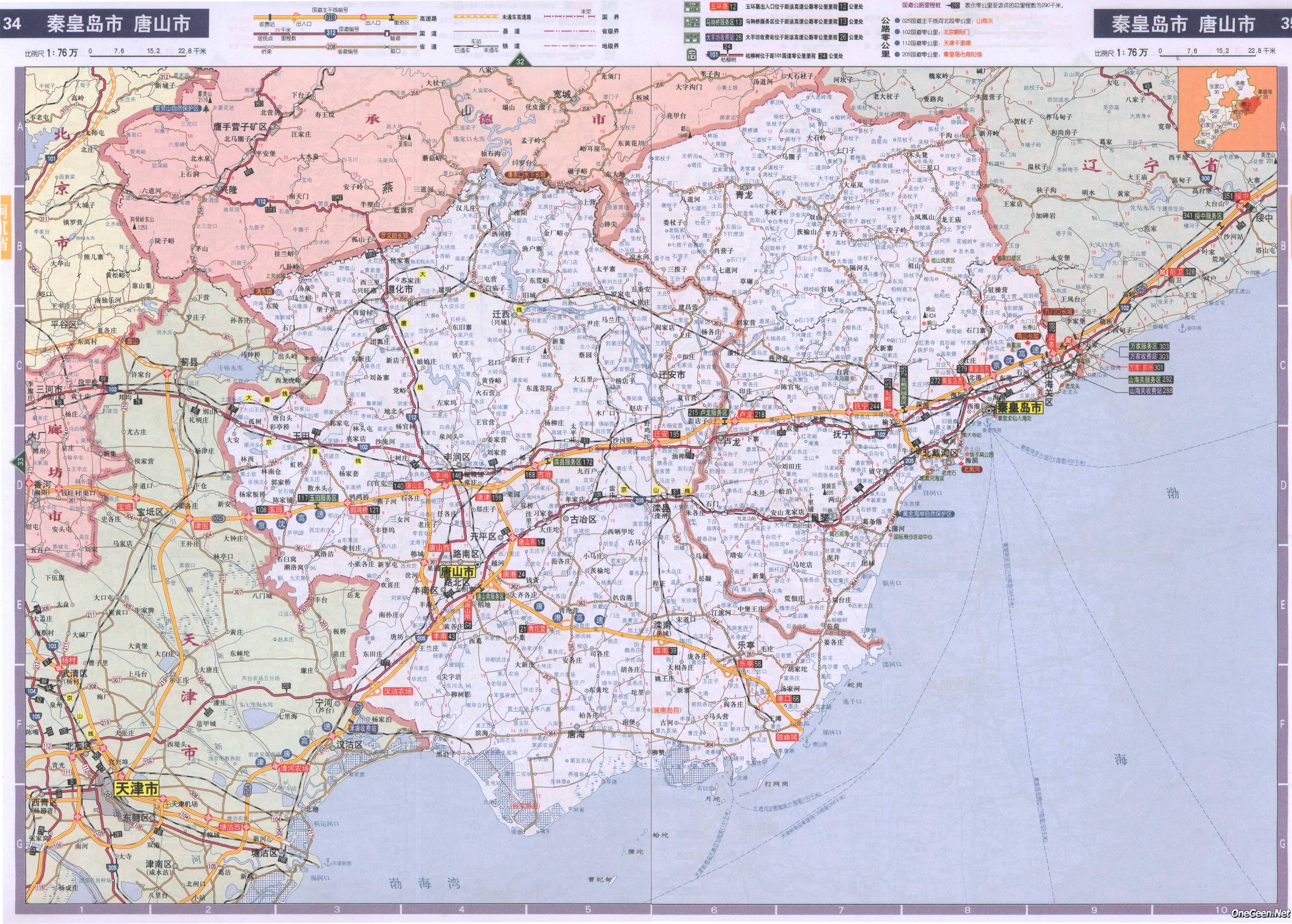 河北乐亭马尔代夫_最新唐山地图全图内容|最新唐山地图全图版面设计