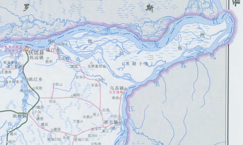 黑瞎子岛及其所在的抚远县