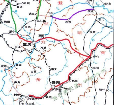 云南铁路分布_重庆附近铁路规划图_重庆地图库