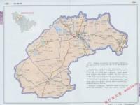 扶余县地图_松原地图库图片