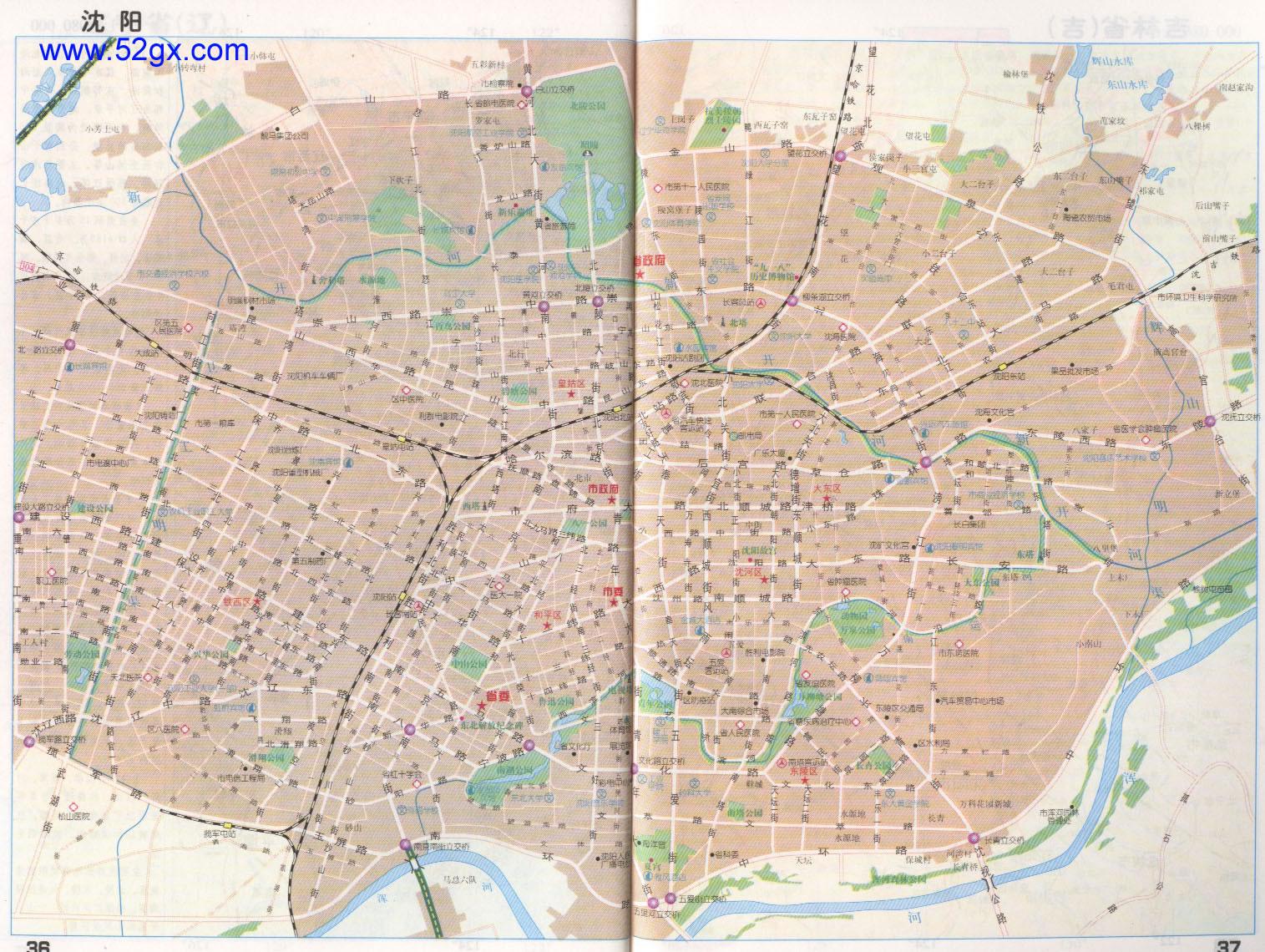地图 沈阳市/沈阳市地图