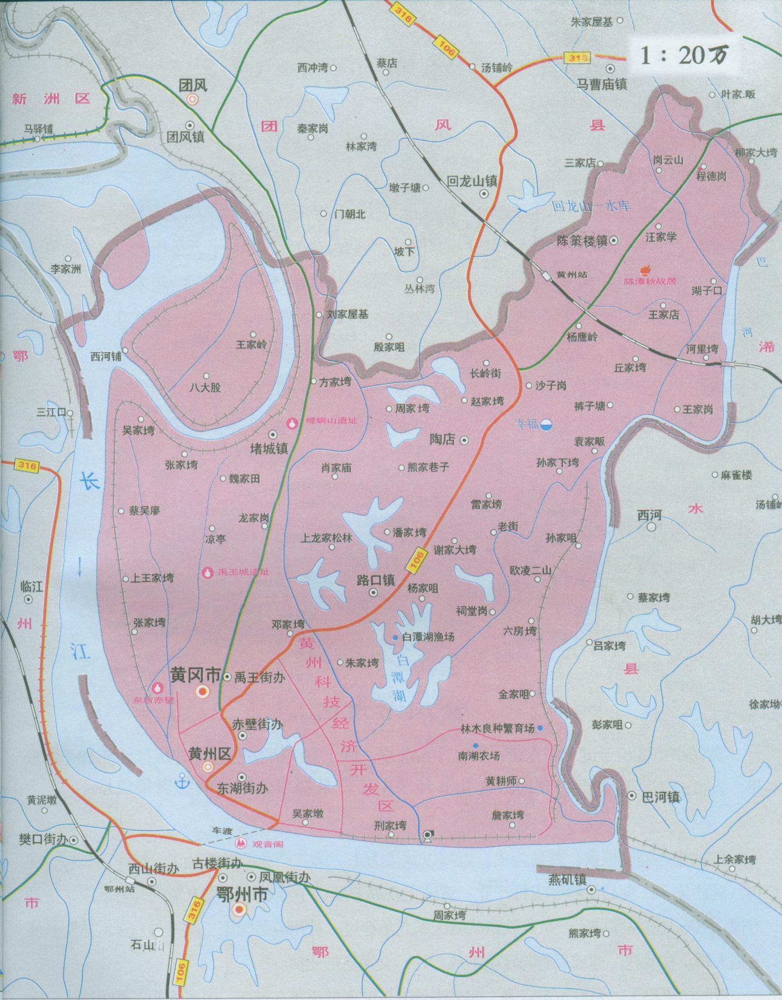 湖北地图全图高清版片图片展示_湖北地图全图高清版片相关图片下载